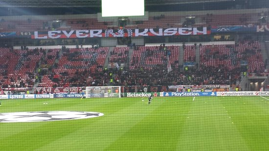 BayArena: Another view of the ultras