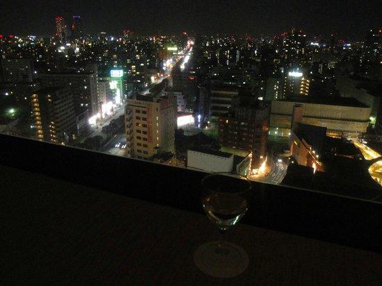 ANA Crowne Plaza Hotel Grand Court Nagoya : 宿泊した客室
