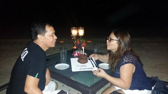 Two Seasons Coron Island Resort & Spa: 33rd Wedding Anniversary Dinner