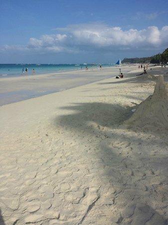Friday's Boracay: The beachfront