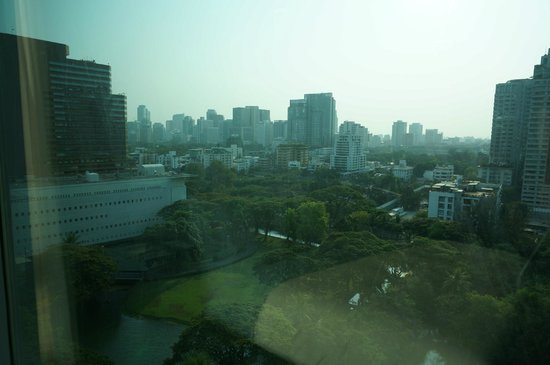 Oriental Residence Bangkok: view from room