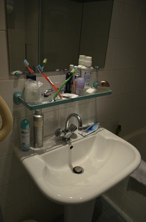 Hotel Aladin: Ванная комната
