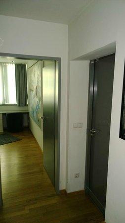 Augarten Art Hotel : hallway