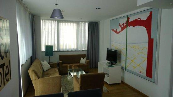 Augarten Art Hotel : Living Room