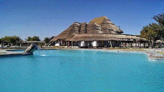 Pelican Lodge & Camping: Pelican Lodge, Makgadikgadi Pans, Botswana