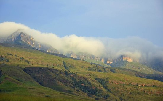 Alpine Heath Resort: beautiful view from our chalet at Alpine Heath