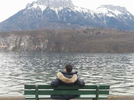 Le Pre du Lac : Lac d'Annecy