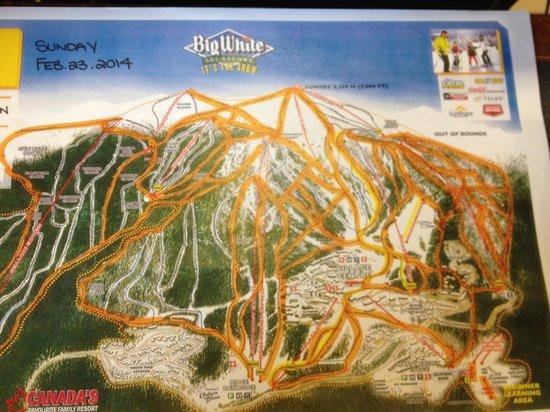 Big White Ski Resort: The ski Runs