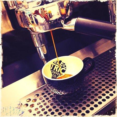 Electric Coffee Co: A delicious single estate espresso shot