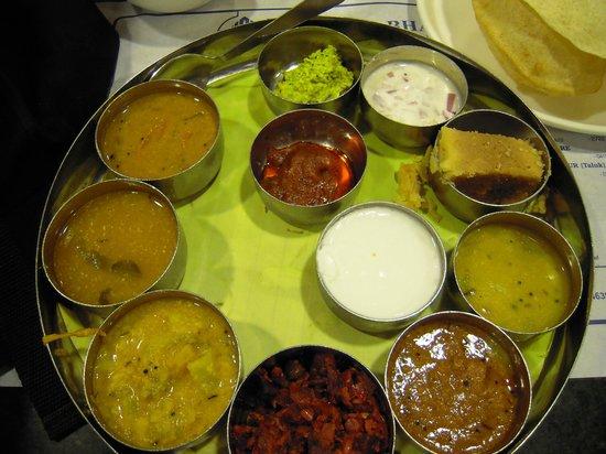 Saravana Bhavan: Thali