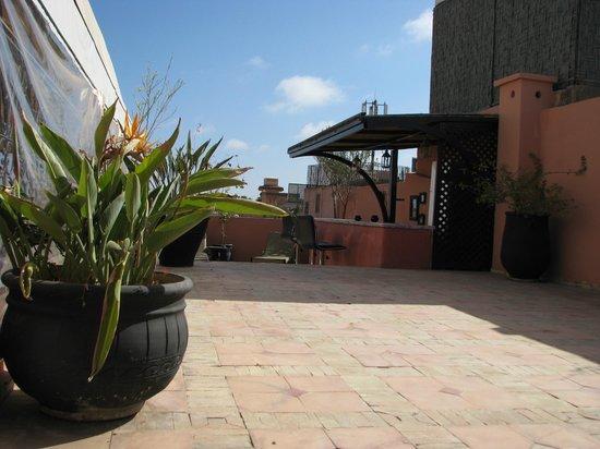 Riad Suliman : taras na dachu