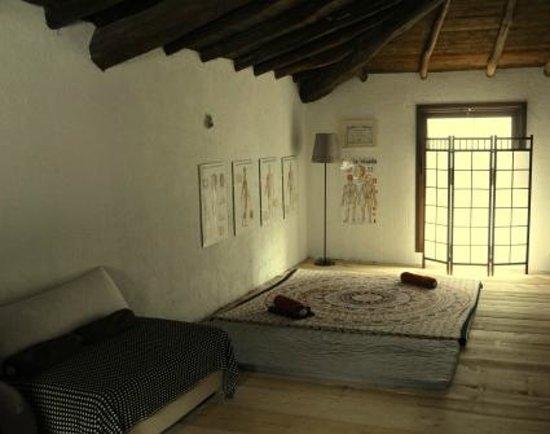 Casa Yanantin B&b: l'area massaggi shiatsu