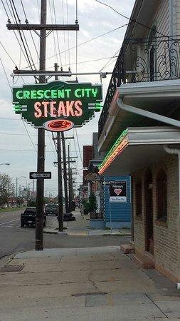 Crescent City Steak House: Street View