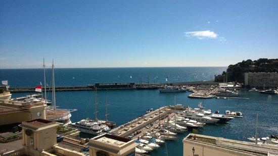 Hotel Hermitage Monte-Carlo : suite en vue marina