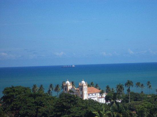 Hotel Costeiro: Vista da Igreja do Carmo em uma das ladeiras de Olinda!!!
