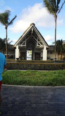 Ambre Resort - All Inclusive : The main entrance