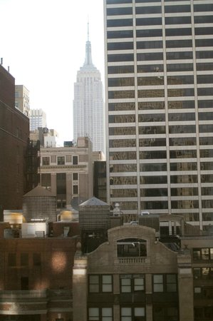 Sofitel New York: The view from our window