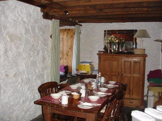Pentre Felin Bed & Breakfast: Ready set for breakfast
