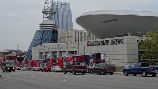Bridgestone Arena: Концерт Taylor Swift