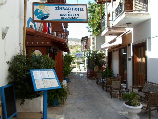 Hotel Zinbad: Entrence to Zinbad Hotel