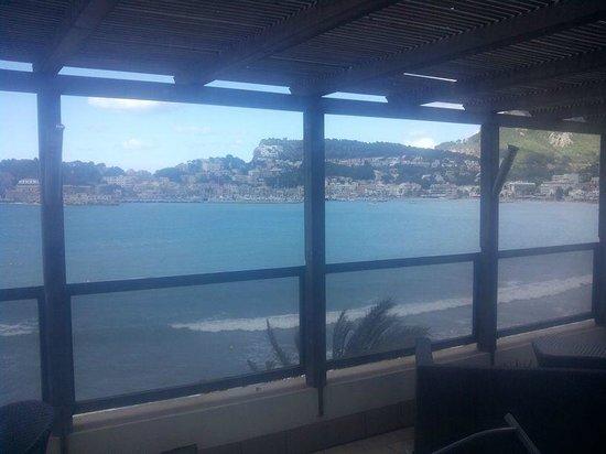 Hotel Los Geranios: Foto desde la suite al puerto