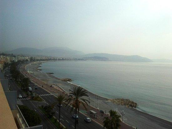 Radisson Blu Hotel, Nice : au 7éme étage de l'hotel