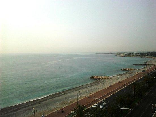 Radisson Blu Hotel, Nice: vue du 7éme étage