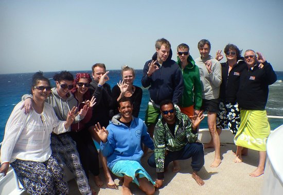 Scuba Hurghada Diving Center : Everybody OK :-)