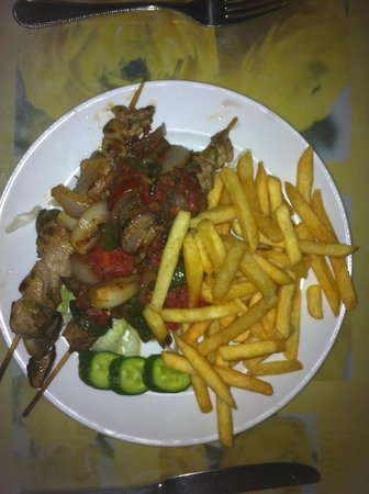 Nile Valley Hotel Restaurant: Goed eten!