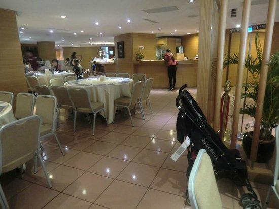 Taitung Bali Suites Hotel: 食早餐的地方