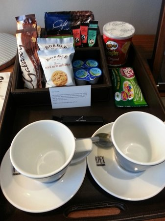 Apex City of London Hotel: Complimentary snacks