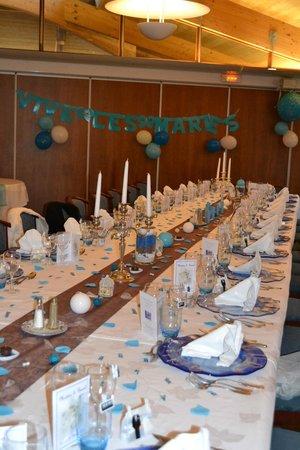Restaurant Les Grenettes : La table