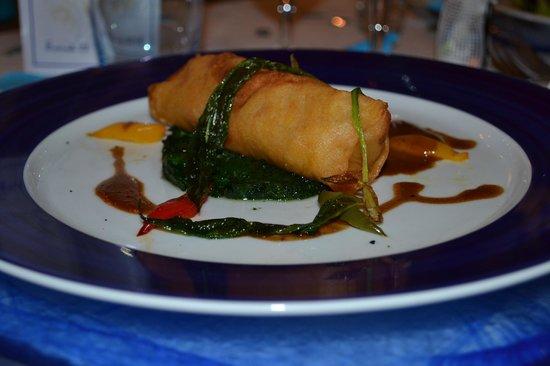 Restaurant Les Grenettes : Pastilla de homard