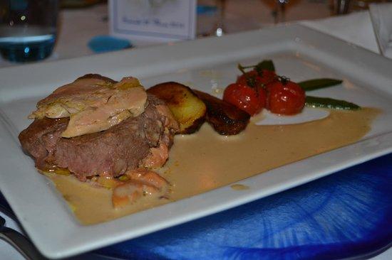 Restaurant Les Grenettes : Filet de bœuf Rossini