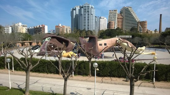 Parque Gulliver: Vista general
