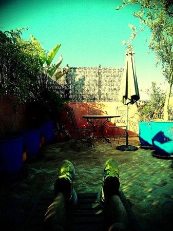 Dar Aby: Relax nella terrazza dell'ultimo piano