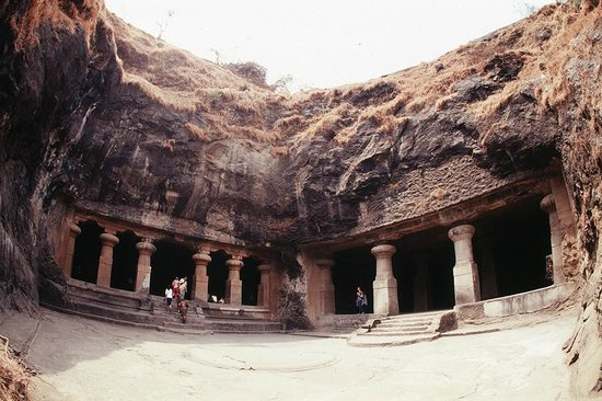 Elephanta Caves : Пещеры