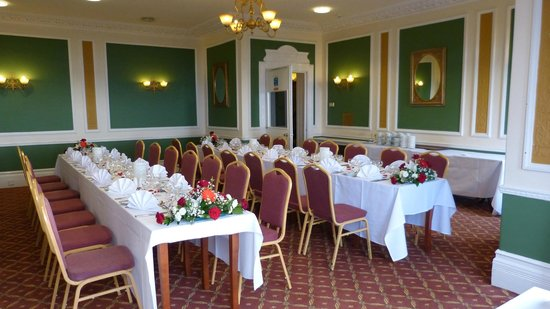 The Clarendon Hotel : Silverdale Suite ready to celebrate