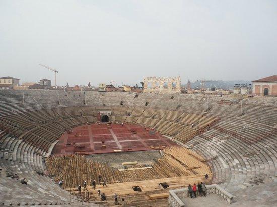 Arena di Verona: interno