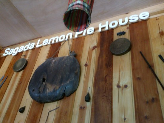 The Sagada Lemon Pie House: indoor