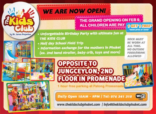 The Kids Club Phuket: Basic Info