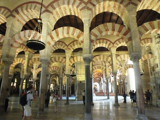 Moschee-Kathedrale (Mezquita de Córdoba): Внутри мусульманской части Мескиты