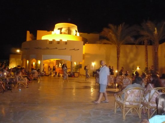 The Bay View Resort Taba Heights: terrasse