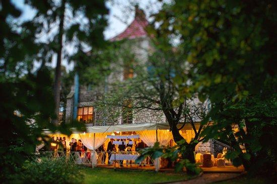 Lion's Castle Hotel : Тераса,парк/terrace, pakr