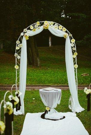Lion's Castle Hotel : весільна арка/wedding arch