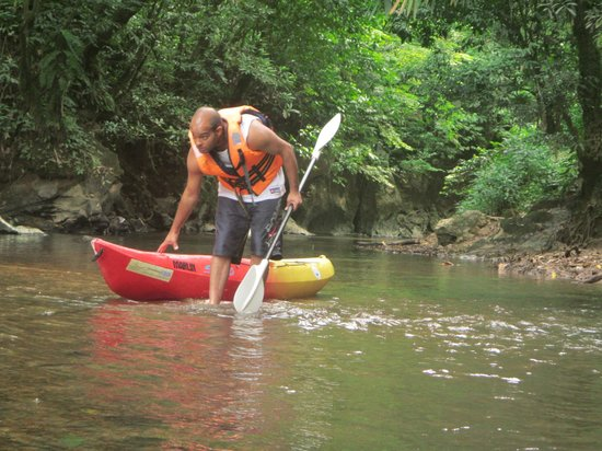 Borneo Seahare Guesthouse: kayaking