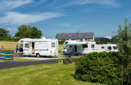 Ballyness Caravan Park: Motorhomes at Ballyness