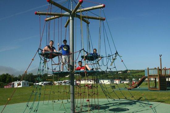 Ballyness Caravan Park: Play park at Ballyness