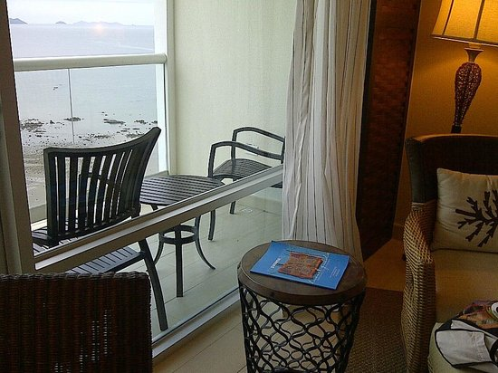 The Westin Playa Bonita Panama: the balcony