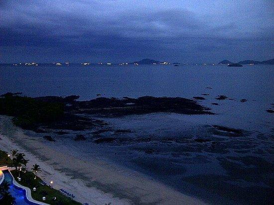The Westin Playa Bonita Panama: the ocean at sun down